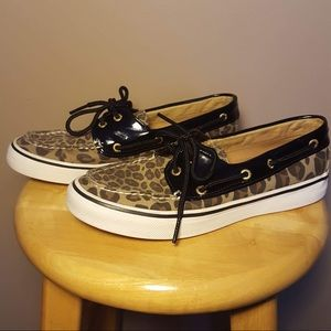 Sperry top-sider cheetah boat shoes size 6 1/2M